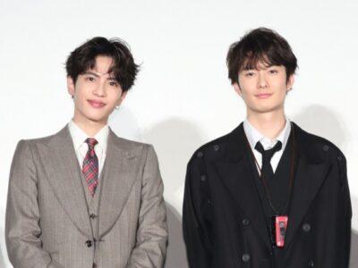 岡田将生と志尊淳の身長比較