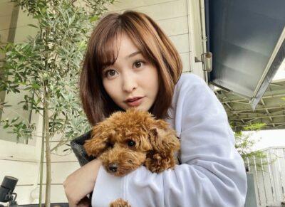 岩田絵里奈と愛犬も似てると大反響!