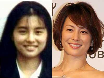 米倉涼子の高校時代の写真が別人の声も?