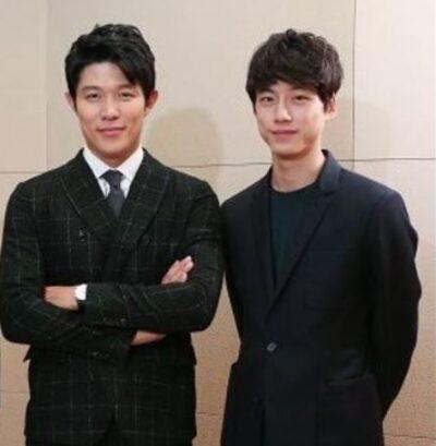 鈴木亮平と坂口健太郎の身長比較