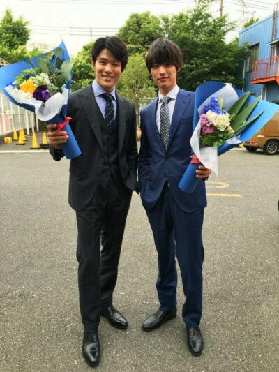 鈴木亮平と福士蒼汰の身長比較