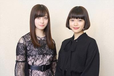 杉咲花と橋本環奈の身長比較